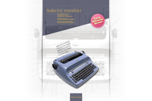Selectric Manifold Font By astevanov