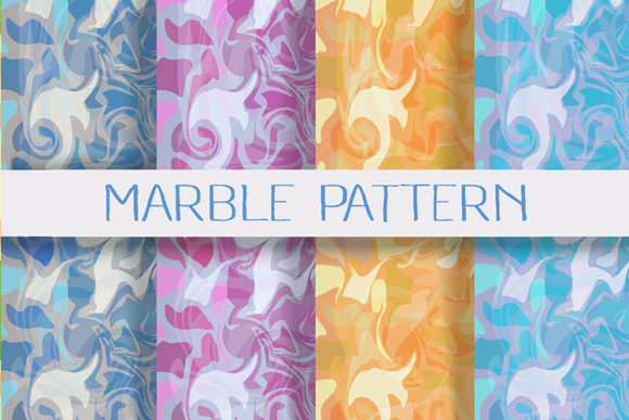 Print on Demand: Marble Background Set Graphic Backgrounds By AlexZel