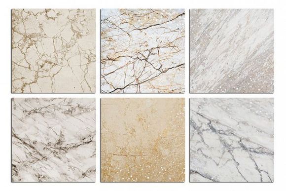 Print on Demand: Marble and Glitter Textures, Backgrounds Graphic Textures By Creative Paper - Image 4
