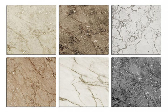 Print on Demand: Marble and Glitter Textures, Backgrounds Graphic Textures By Creative Paper - Image 5