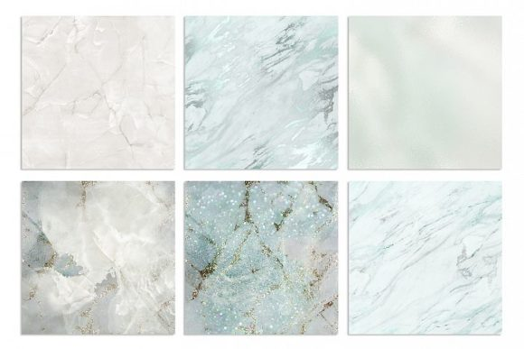 Marble and Watercolor Patterns Graphic By artisssticcc Image 3