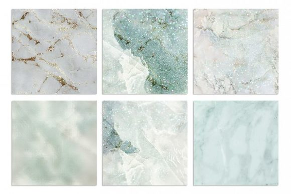 Marble and Watercolor Patterns Graphic By artisssticcc Image 4