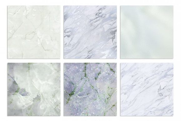 Print on Demand: Marble and Watercolor Textures Graphic Textures By Creative Paper - Image 3