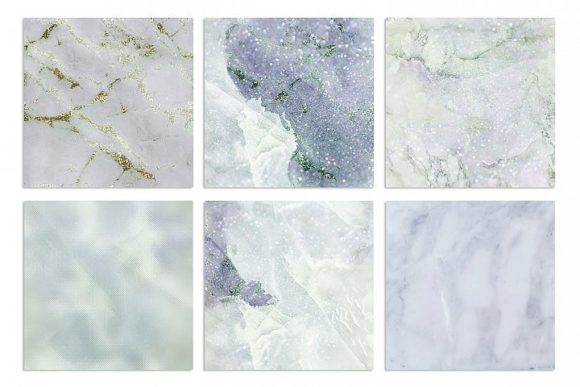 Print on Demand: Marble and Watercolor Textures Graphic Textures By Creative Paper - Image 4