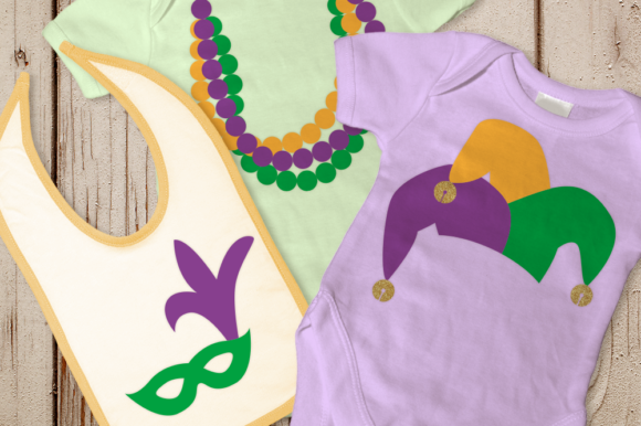 Download Free Mardi Gras Graphic By Designedbygeeks Creative Fabrica for Cricut Explore, Silhouette and other cutting machines.