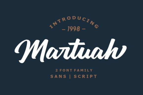 Print on Demand: Martuah Duo Display Font By Authentic Studio