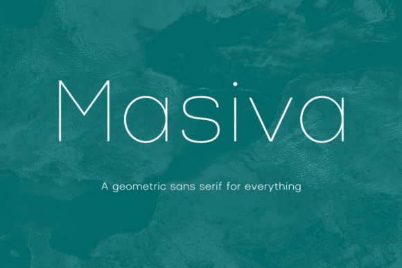 Download Free Masiva Family Font By Graviton Font Foundry Creative Fabrica for Cricut Explore, Silhouette and other cutting machines.