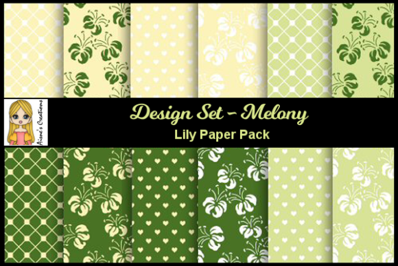 Melony - Lily Paper Pack Graphic By Aisne