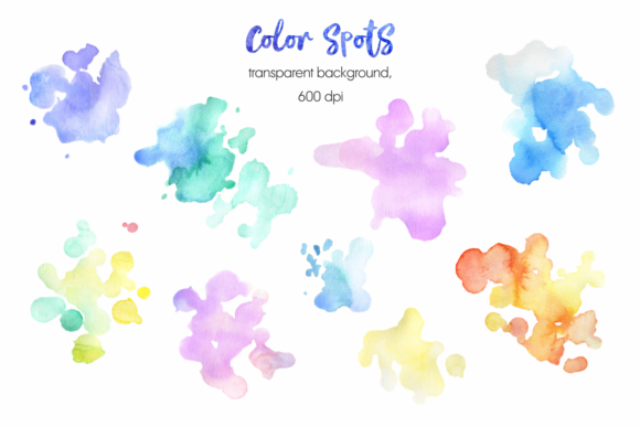 Mermaids. Watercolor Cliparts Set. Graphic Preview