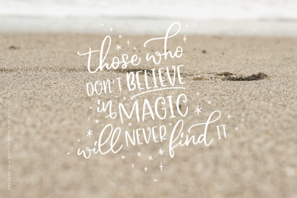 Print on Demand: Message in a Bottle Duo Script & Handwritten Font By Ayca Atalay - Image 5