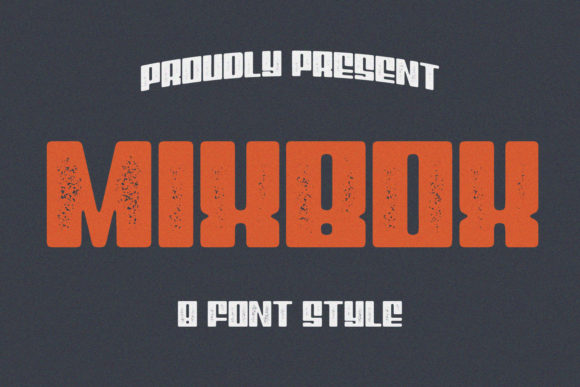Download Free Mixbox Family Font By Sabrcreative Creative Fabrica for Cricut Explore, Silhouette and other cutting machines.