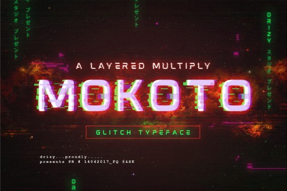 Print on Demand: Mokoto Display Font By sandrifaqih
