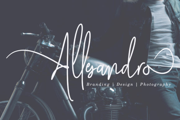 Print on Demand: Mollaroid Script & Handwritten Font By aldedesign - Image 2