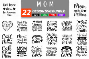 Mom SVG Bundle Graphic By Handmade studio