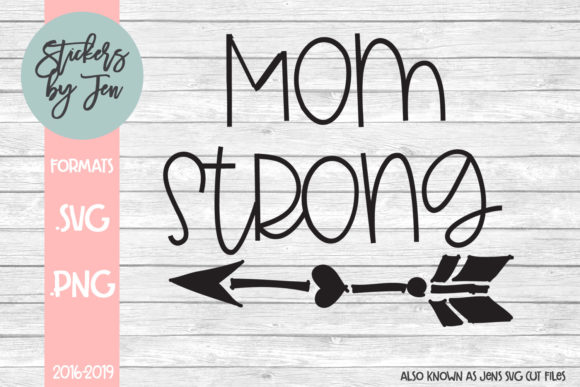 Download Free Mom Strong Svg Grafico Por Jens Svg Cut Files Creative Fabrica for Cricut Explore, Silhouette and other cutting machines.