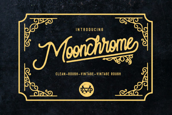 Print on Demand: Moonchrome Script & Handwritten Font By madeDeduk