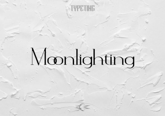 Print on Demand: Moonlighting Serif Font By Typeting Studio