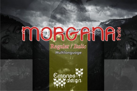 Print on Demand: Morgana Slab Serif Font By emanesdsign