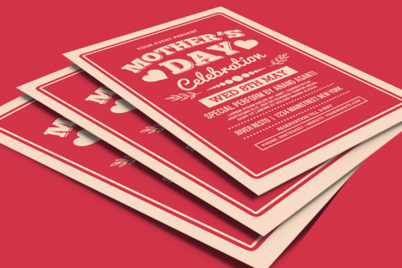 Mother's Day Celebration Typography Graphic Print Templates By muhamadiqbalhidayat - Image 4