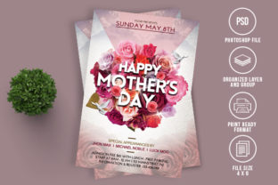 Mothers Day Flyer Graphic By Ayumadesign Creative Fabrica