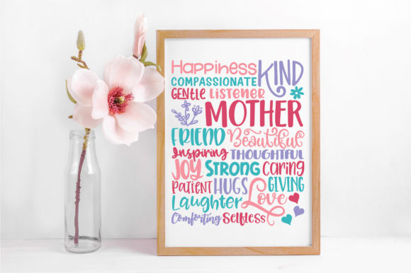 Print on Demand: Mothers Day Subway Art SVG Cut File Graphic Crafts By oldmarketdesigns - Image 5