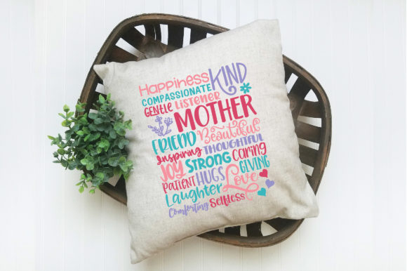 Print on Demand: Mothers Day Subway Art SVG Cut File Graphic Crafts By oldmarketdesigns - Image 6