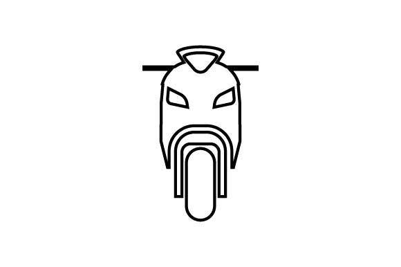Download Free Motorbike Motorcycle Icon Vector Graphic By Hoeda80 Creative for Cricut Explore, Silhouette and other cutting machines.
