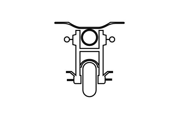 Download Free Motorcycle Motorbike Icon Vector Graphic By Hoeda80 for Cricut Explore, Silhouette and other cutting machines.
