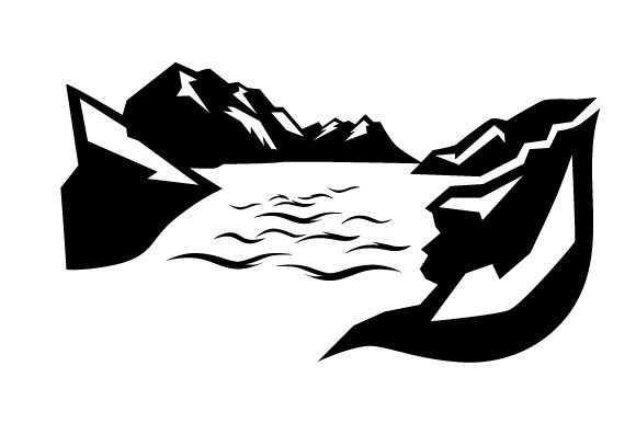Download Free Mountains And Lake Svg Cut File By Creative Fabrica Crafts for Cricut Explore, Silhouette and other cutting machines.