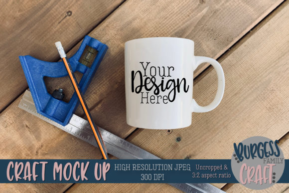 Mug Tools 2 Craft Mock Up JPG Graphic Product Mockups By burgessfamilycraft