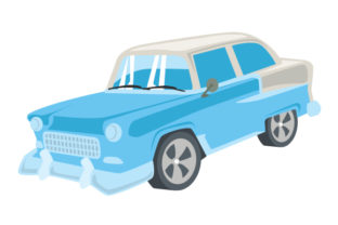 Muscle Car Craft Design By Creative Fabrica Crafts