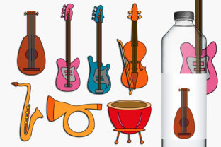 Music Instruments Graphic By Revidevi