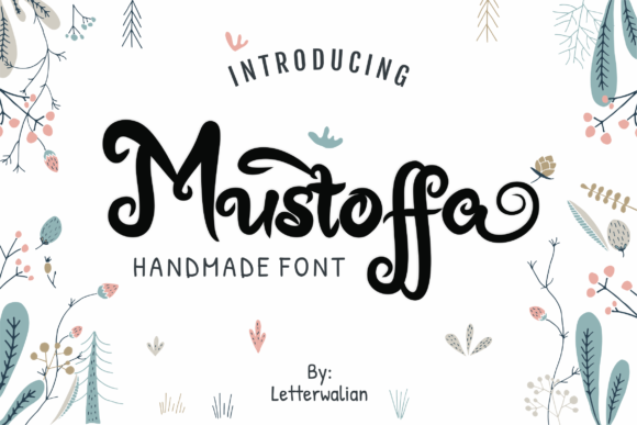 Print on Demand: Mustoffa Display Font By Nun Creatype