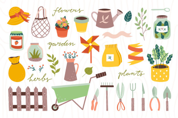 My Garden Collection Graphic Illustrations By redchocolate - Image 4