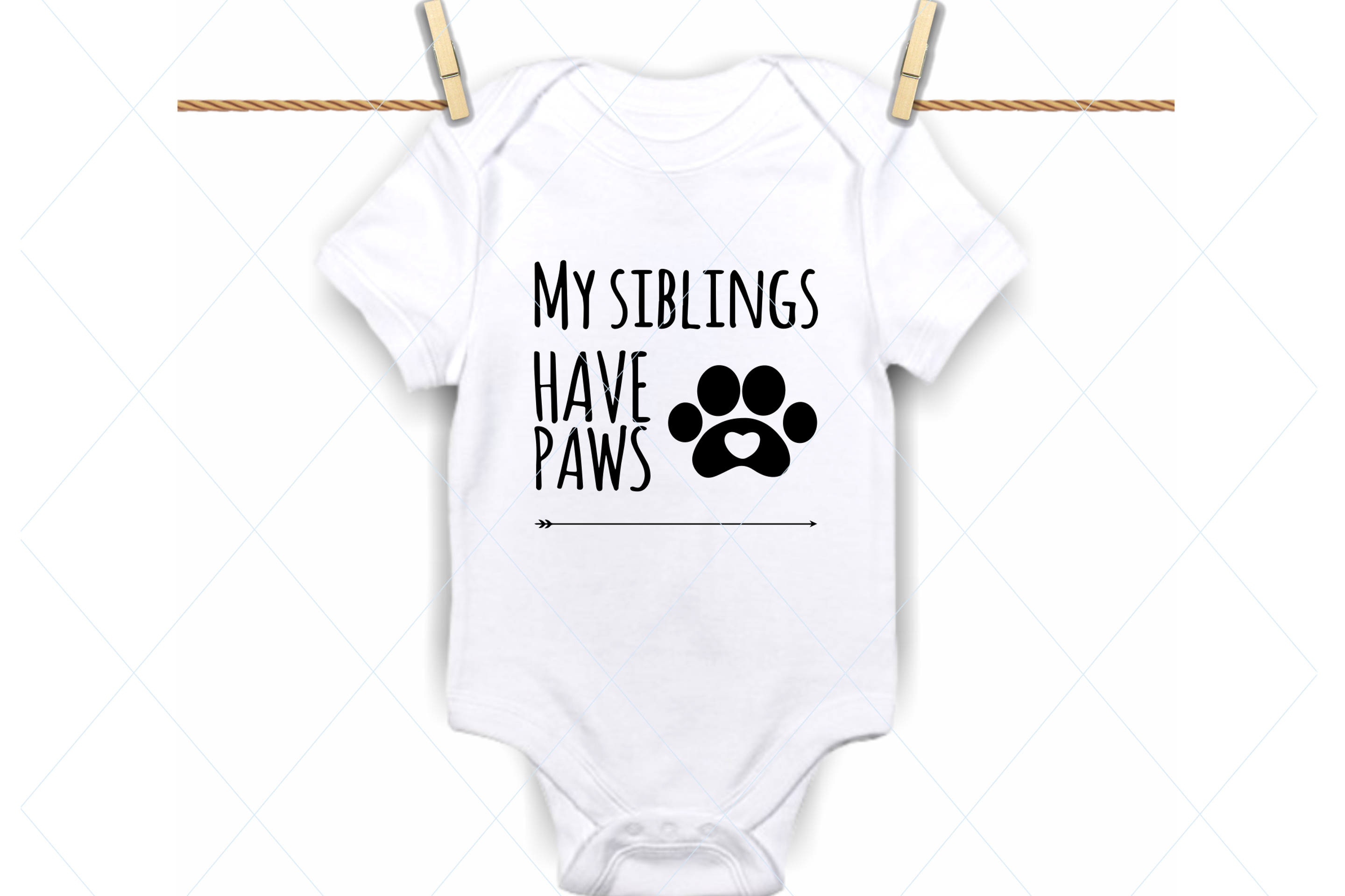 Download Free My Siblings Have Paws Svg Graphic By Thelovebyrds Creative Fabrica for Cricut Explore, Silhouette and other cutting machines.