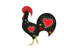 National Animal - Rooster Craft Design By Creative Fabrica Crafts