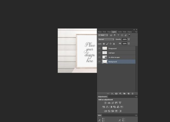 Print on Demand: Nautical 8x10'' Picture Frame Mockup Graphic Product Mockups By Leo Flo Mockups - Image 2