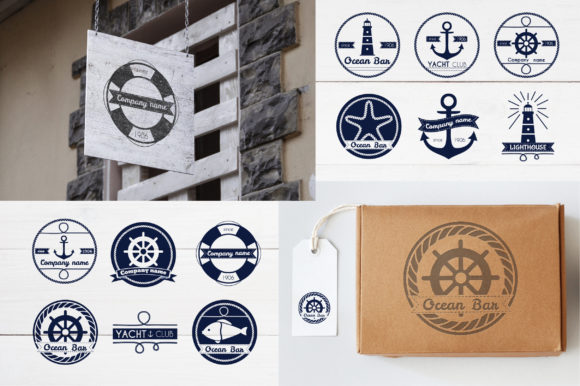 Nautical Collection Graphic Illustrations By Alisovna - Image 2