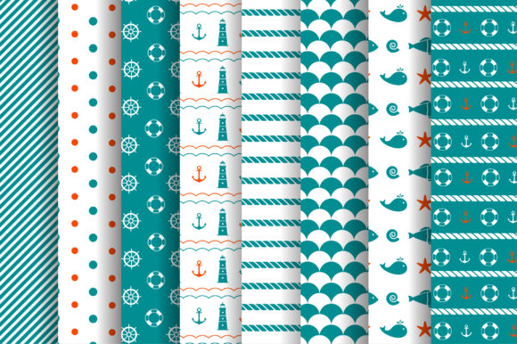 Nautical Collection Graphic Illustrations By Alisovna - Image 14