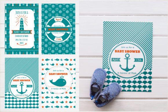 Nautical Collection Graphic Illustrations By Alisovna - Image 15
