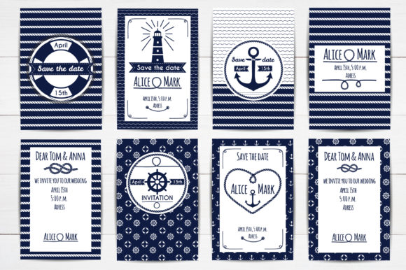 Nautical Collection Graphic Illustrations By Alisovna - Image 4