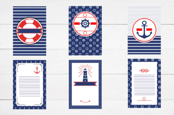 Nautical Collection Graphic Illustrations By Alisovna - Image 5