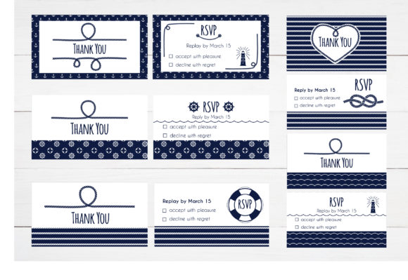 Nautical Collection Graphic Illustrations By Alisovna - Image 8