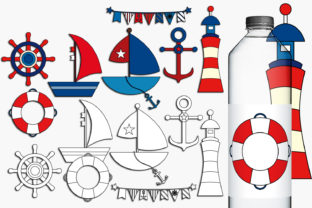 Nautical Graphic By Revidevi