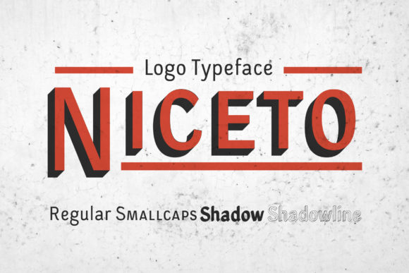 Print on Demand: Niceto Display Font By magofonts