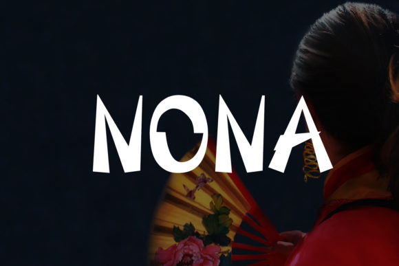 Print on Demand: Nona Display Font By da_only_aan