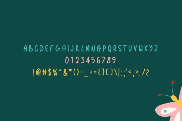 Print on Demand: Nonskid Display Font By Shattered Notion - Image 4