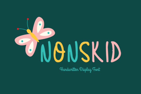 Print on Demand: Nonskid Display Font By Shattered Notion