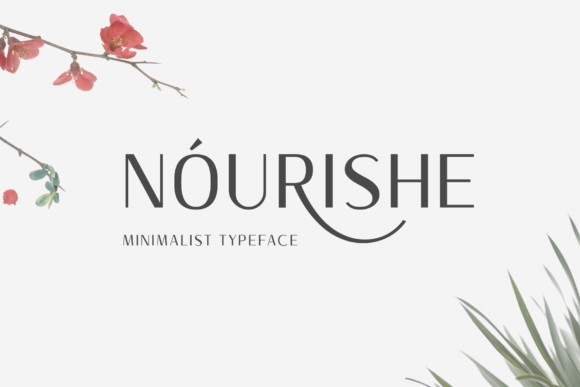 Print on Demand: Nourishe Sans Serif Font By Arterfak Project