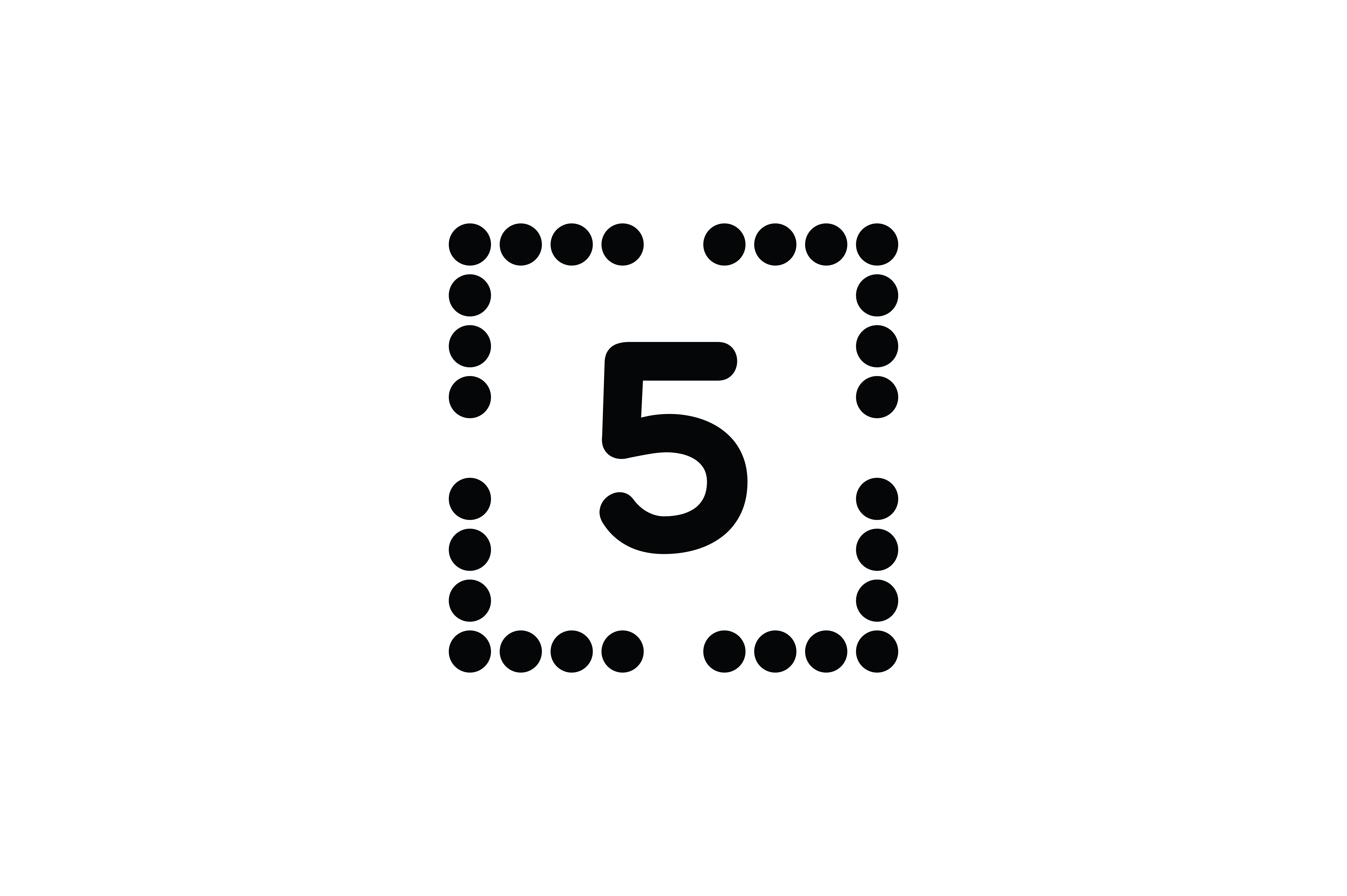 Download Free Number 5 Icon Graphic By Newicon Creative Fabrica for Cricut Explore, Silhouette and other cutting machines.